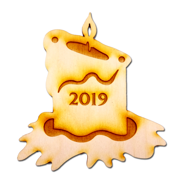 2019 Candle Ornament
