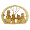 Snowman Family of Four Ornament