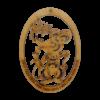 Chinese Zodiac Rat Ornament