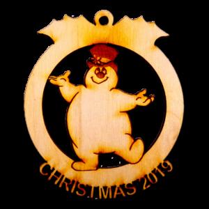Snowman 2019 Ornament