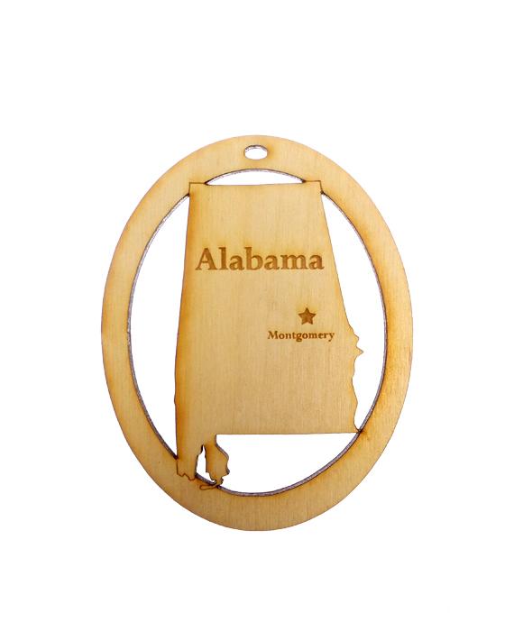 Personalized Alabama Ornament