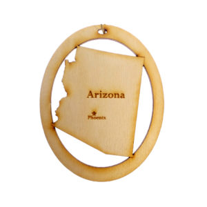 Personalized Arizona Ornament