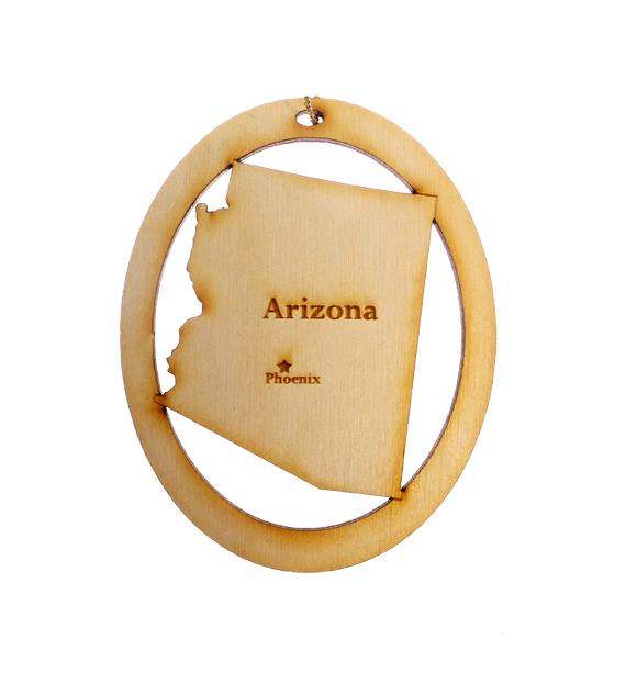 Personalized Arizona Ornament