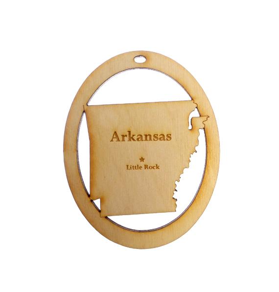 Personalized Arkansas Ornament