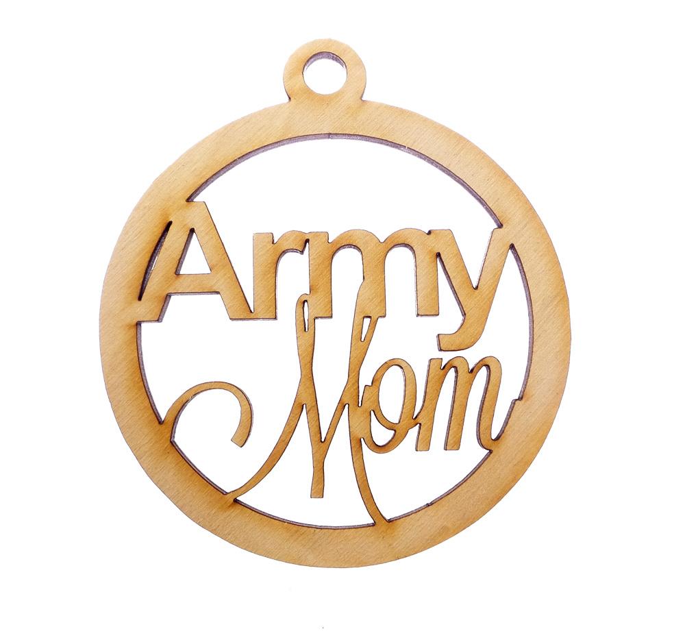 Army Mom Ornament