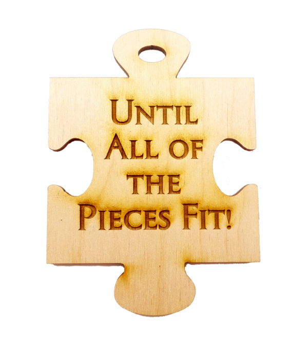 Personalized Autism Awareness Ornament