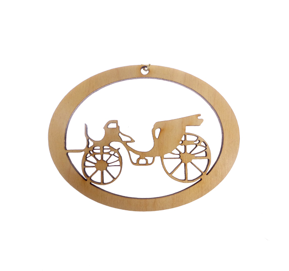 Personalized Carriage Ornament