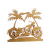 Personalized Motorcycle Ornaments