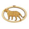 Personalized Cheetah Ornament