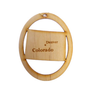 Personalized Colorado Ornament