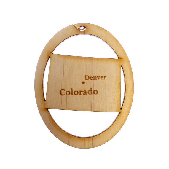 Personalized Colorado Ornament