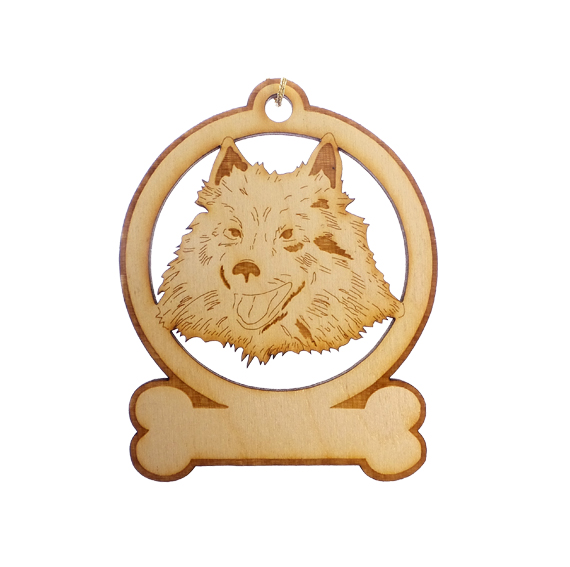 Personalized American Eskimo Ornament