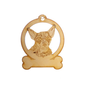 Personalized Australian Cattle Dog Ornament