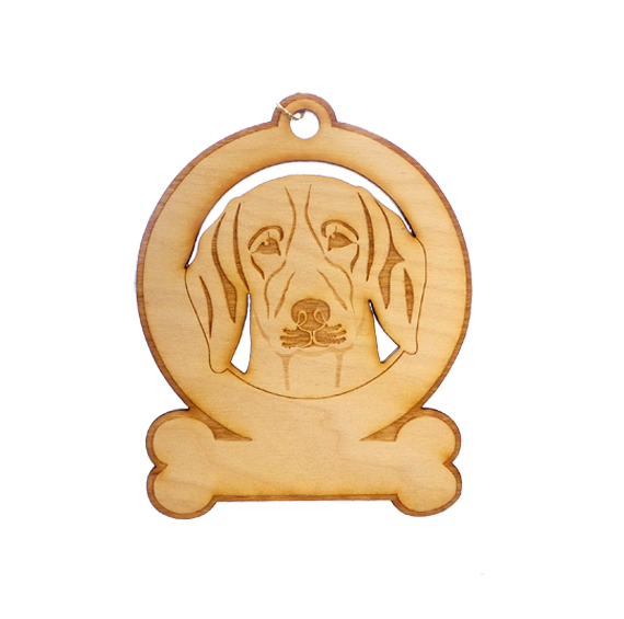 Personalized Beagle Ornament