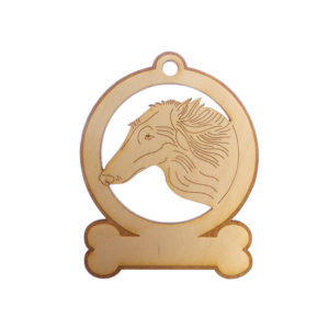 Personalized Borzoi Ornament