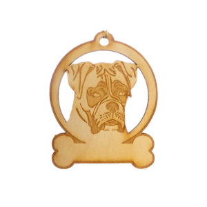 Personalized Boxer Ornament