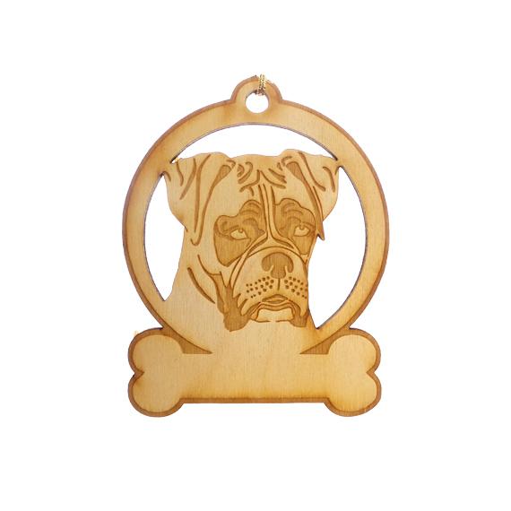 Personalized Boxer Ornament
