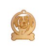 Personalized Brittany Spaniel Ornament