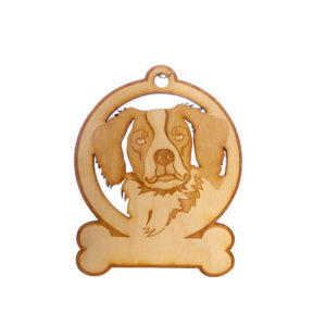 Personalized Brittany Spaniel Ornament