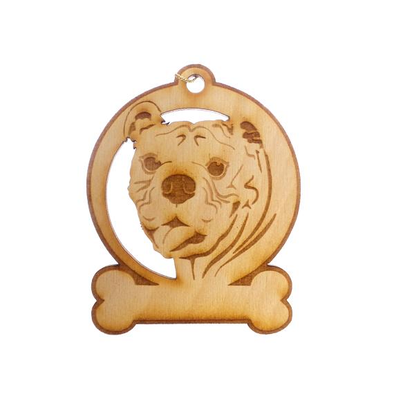 Personalized Bulldog Ornament