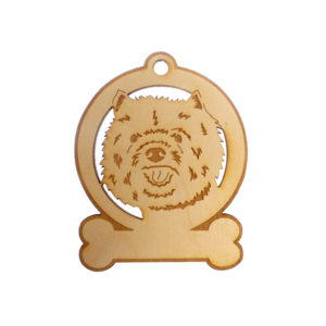 Personalized Cairn Terrier Ornament