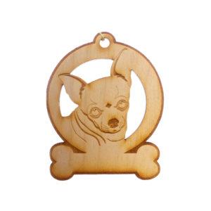 Personalized Chihuahua Ornament