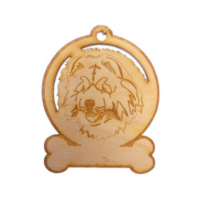 Personalized Chow Chow Ornament