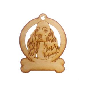 Personalized Cocker Spaniel Ornament
