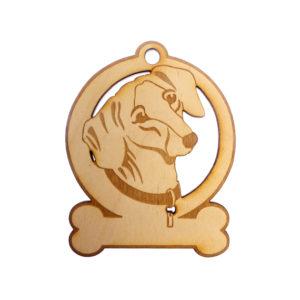 Personalized Dachshund Ornament