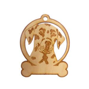 Personalized Dalmatian Ornament