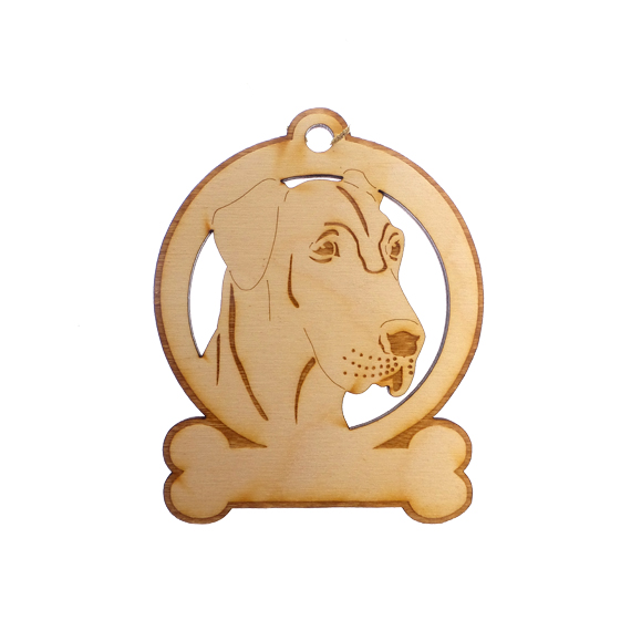 Personalized Great Dane Ornament
