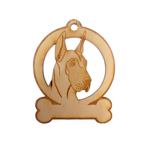 Personalized Great Dane Ornament
