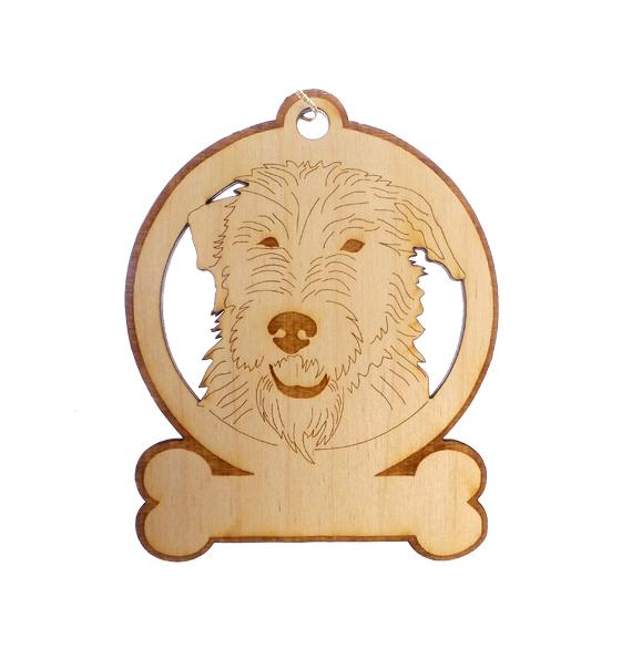 Personalized Irish Wolfhound Ornament