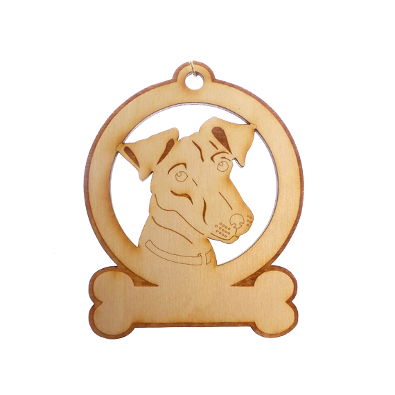 Personalized Jack Russell Ornament
