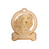 Personalized King Charles Spaniel Ornament