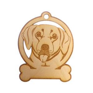 Personalized Labrador Ornament