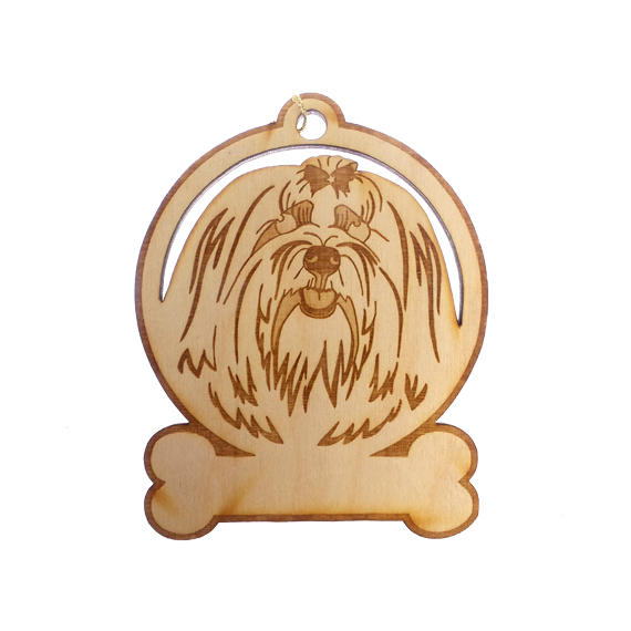 Personalized Maltese Ornament