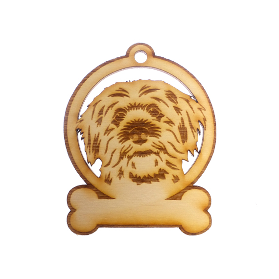 Personalized Jackapoo Ornament