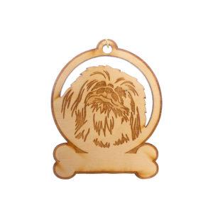 Personalized Pekingese Ornament