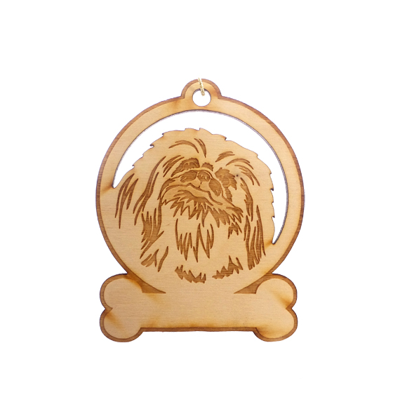 Personalized Pekingese Ornament
