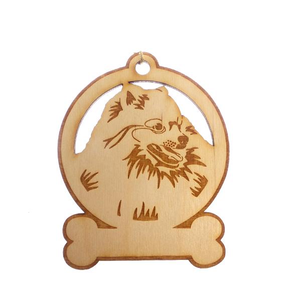 Personalized Pomeranian Ornament