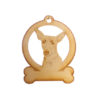 Personalized Rat Terrier Ornament