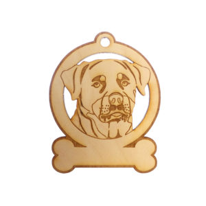 Personalized Rottweiler Ornament