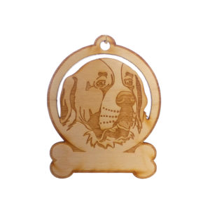 Personalized Saint Bernard Ornament