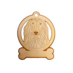 Personalized Saluki Ornament