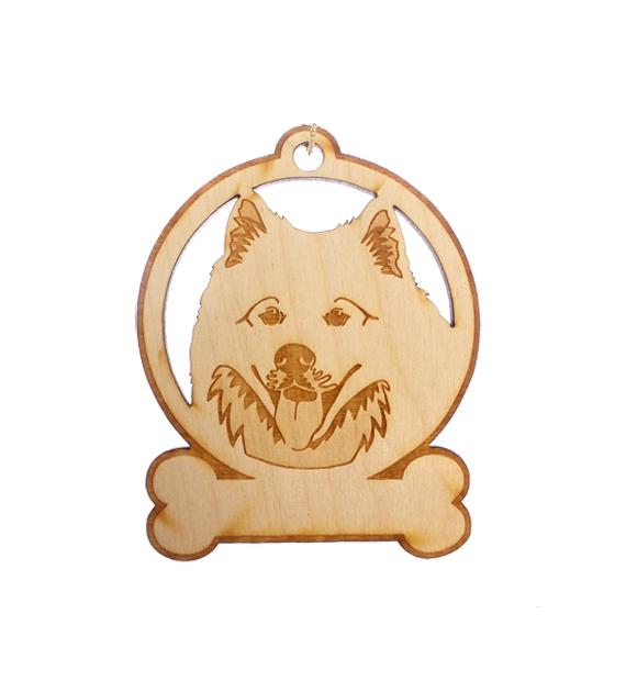 Personalized Samoyed Ornament