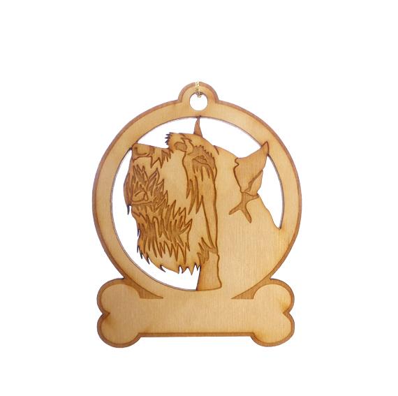 Personalized Schnauzer Ornament