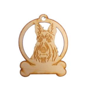 Personalized Scottie Ornament