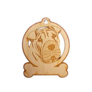 Personalized Shar Pei Ornament