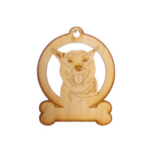 Personalized Akita Ornament